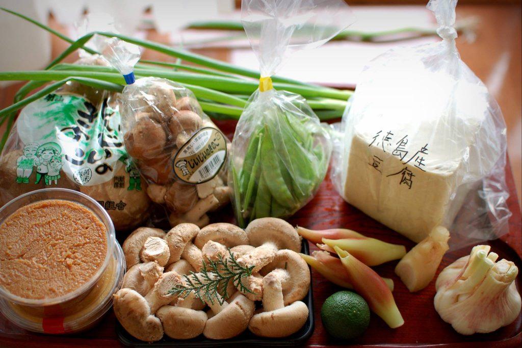 ハレの日おうちごはんでは、徳島の新鮮食材をお送りします